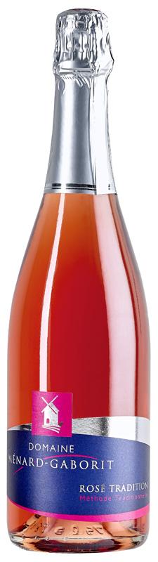 Méthode traditionnelle - brut rosé