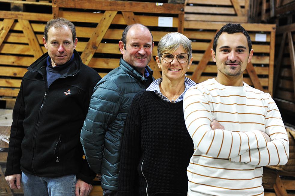 Equipe du Domaine Ménard-Gaborit